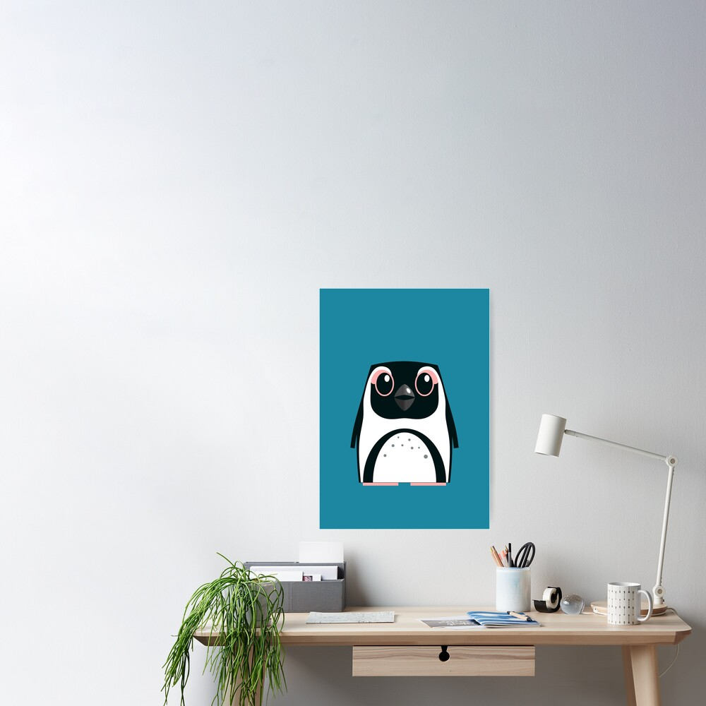 African Penguin - 50% of profits to charity Poster