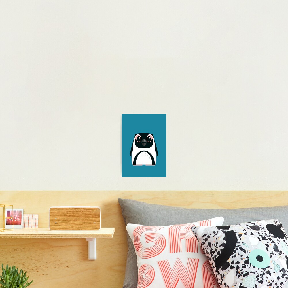 African Penguin - 50% of profits to charity Photographic Print