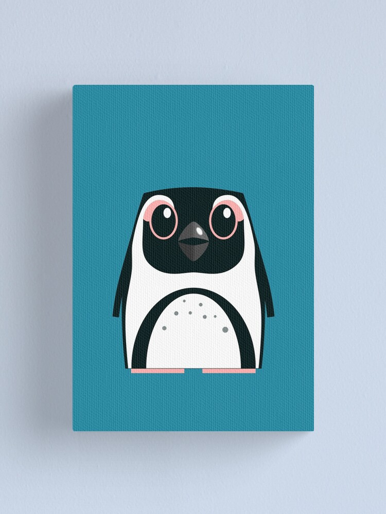 Alternate view of African Penguin - 50% of profits to charity Canvas Print