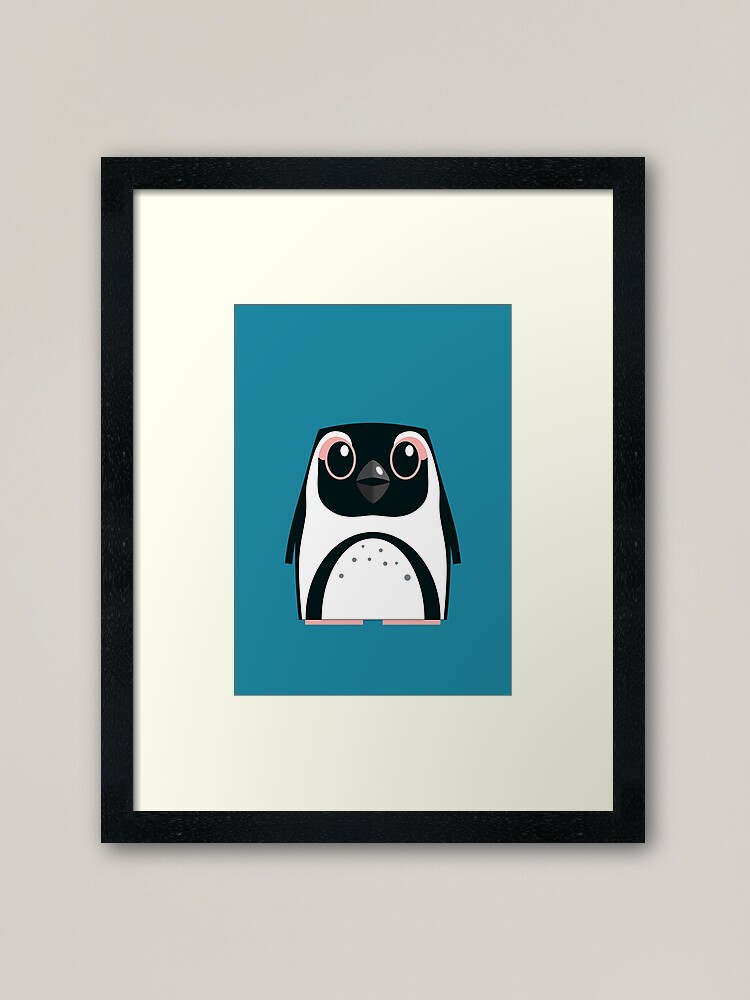 Alternate view of African Penguin - 50% of profits to charity Framed Art Print