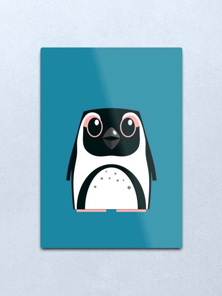 Alternate view of African Penguin - 50% of profits to charity Metal Print