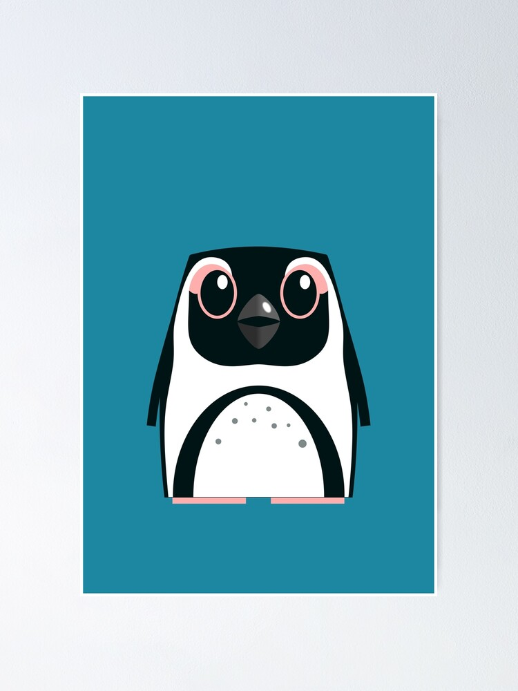 Alternate view of African Penguin - 50% of profits to charity Poster