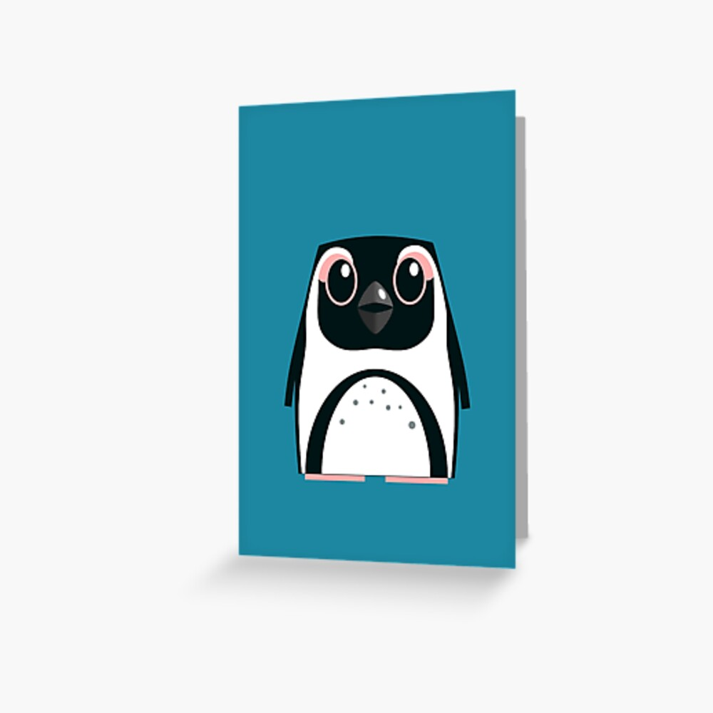 African Penguin - 50% of profits to charity Greeting Card