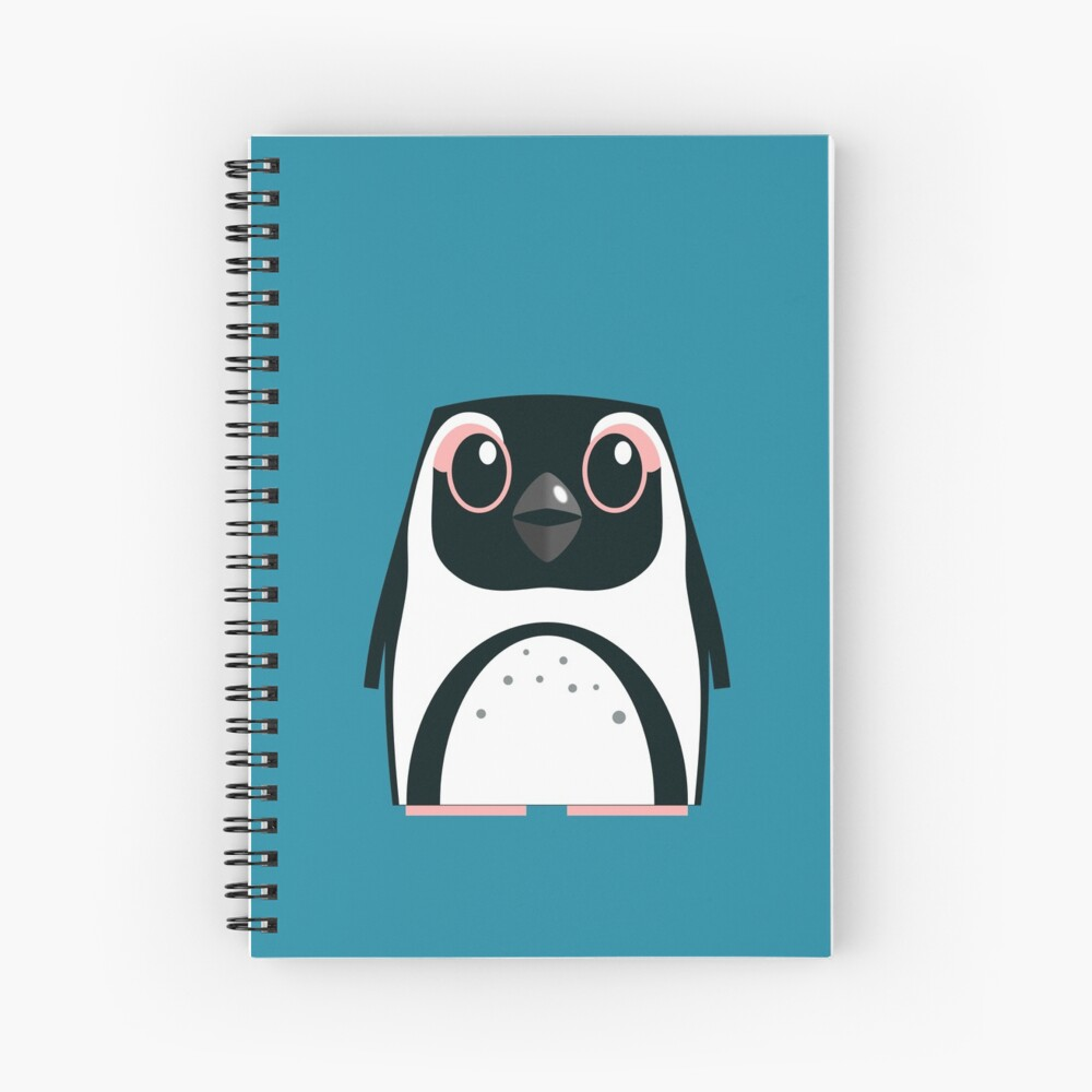 African Penguin - 50% of profits to charity Spiral Notebook
