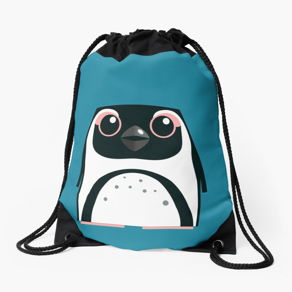 African Penguin - 50% of profits to charity Drawstring Bag