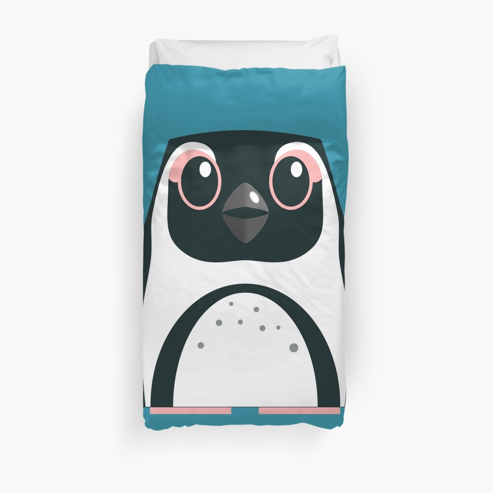 African Penguin - 50% of profits to charity Duvet Cover