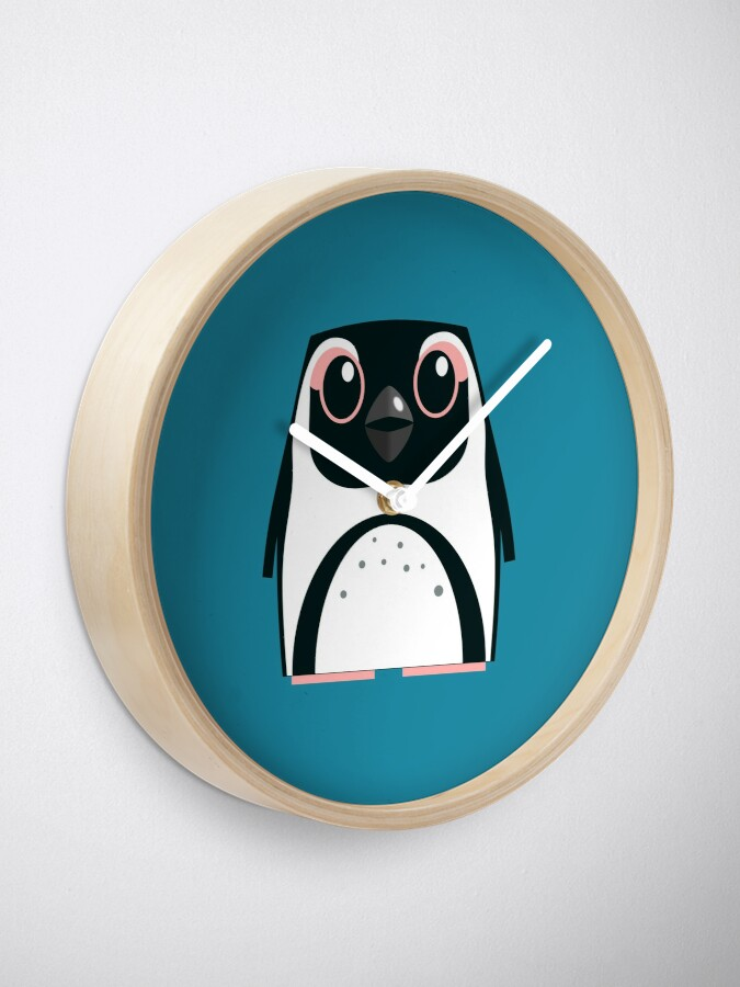 Alternate view of African Penguin - 50% of profits to charity Clock