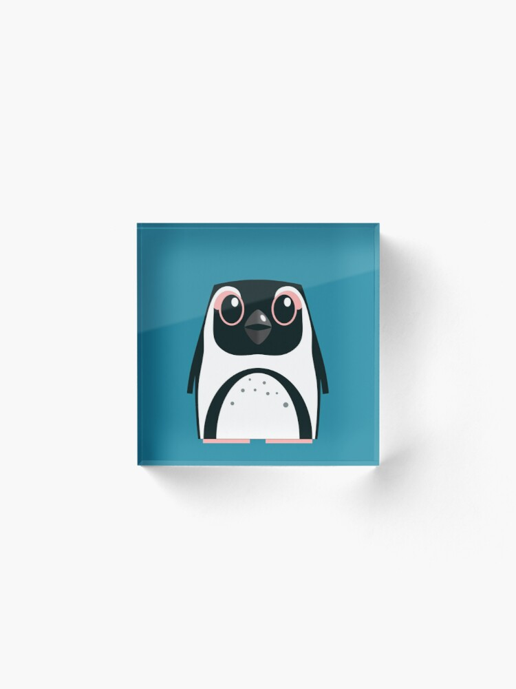 Alternate view of African Penguin - 50% of profits to charity Acrylic Block