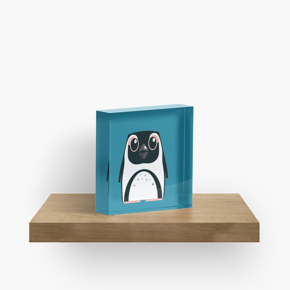 African Penguin - 50% of profits to charity Acrylic Block