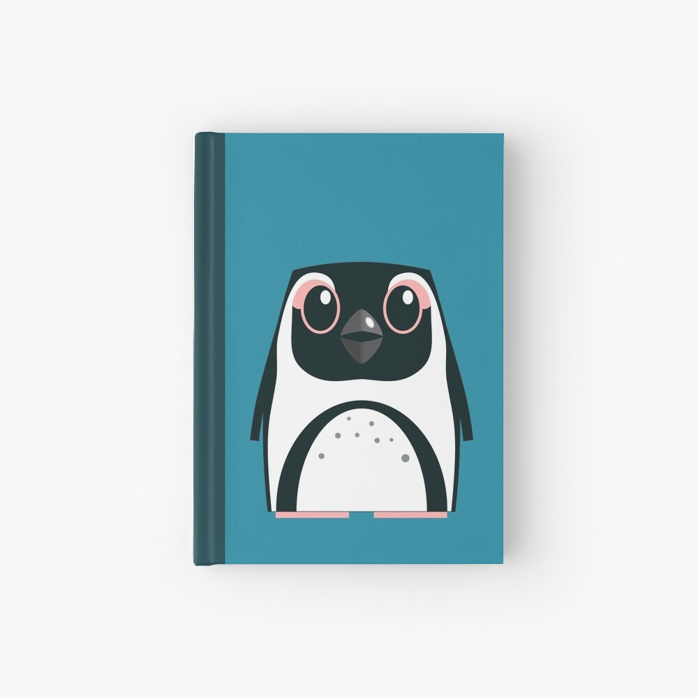 African Penguin - 50% of profits to charity Hardcover Journal