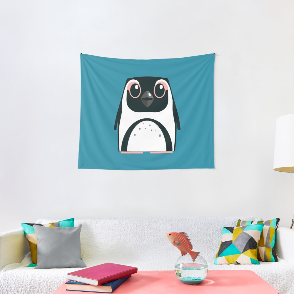 African Penguin - 50% of profits to charity Tapestry