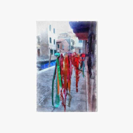 Ribbons in Venice, Italy Art Board Print