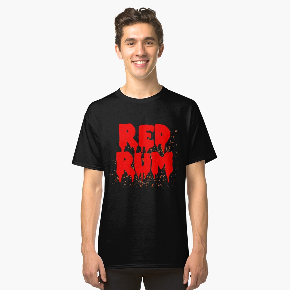 Red Rum Scary Design! Classic T-Shirt