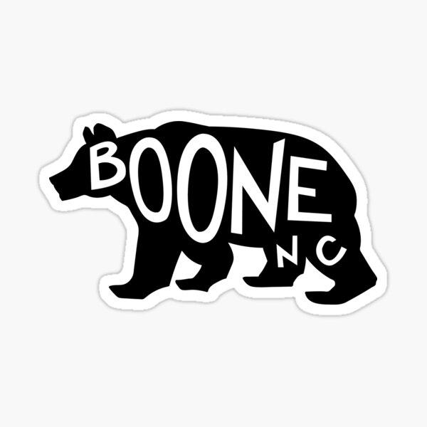 Boone Bear Sticker