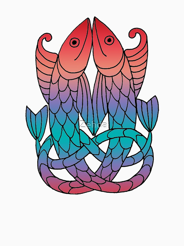 Celtic Knot Fish by Zehda
