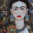 Frida thoughts  by Madalena Lobao-Tello