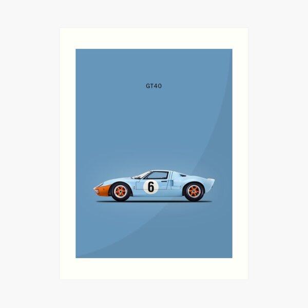 Le GT40 Impression artistique