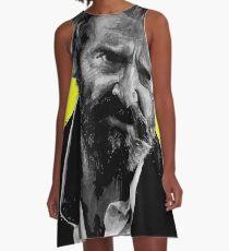 Logan (Graffiti Pop Art Street Urban) A-Line Dress
