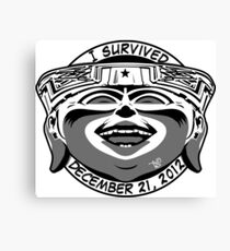 2012 Survivor Canvas Print