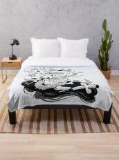 Morning Ritual Throw Blanket