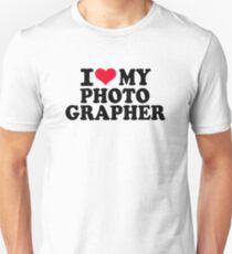 I love my Photographer T-Shirt