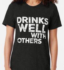 Getränke gut mit anderen Vintage T-Shirt