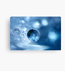 Angel Drop Canvas Print