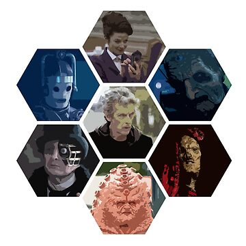 Twelfth Doctor and foes by DrFrankenbaum