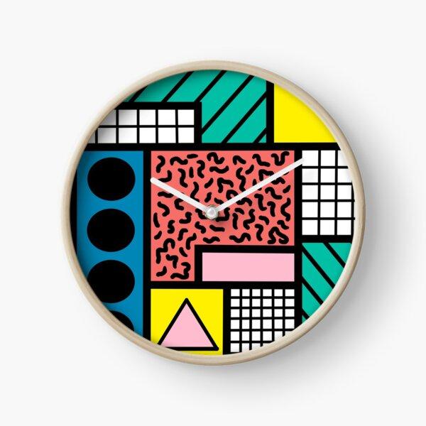 80's Memphis Clock