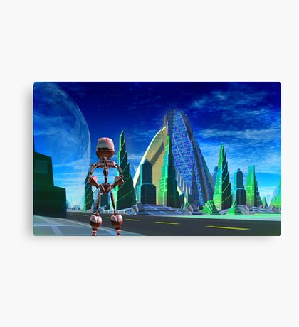 Beyond Foundation & Empire Canvas Print