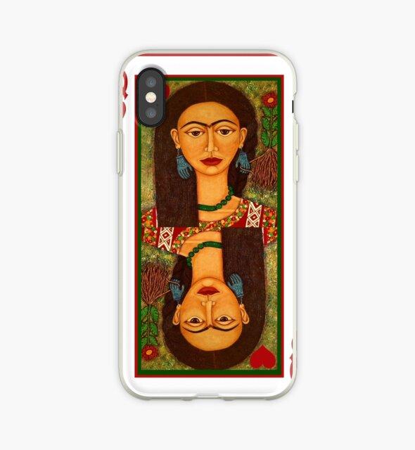 Frida Kahlo, reina de corazones by Madalena Lobao-Tello