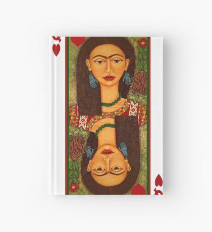 Frida Kahlo, reina de corazones Hardcover Journal
