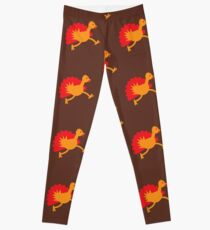 Thanksgiving Turkey on the RUN! Leggings