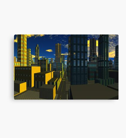 City of Silence Canvas Print