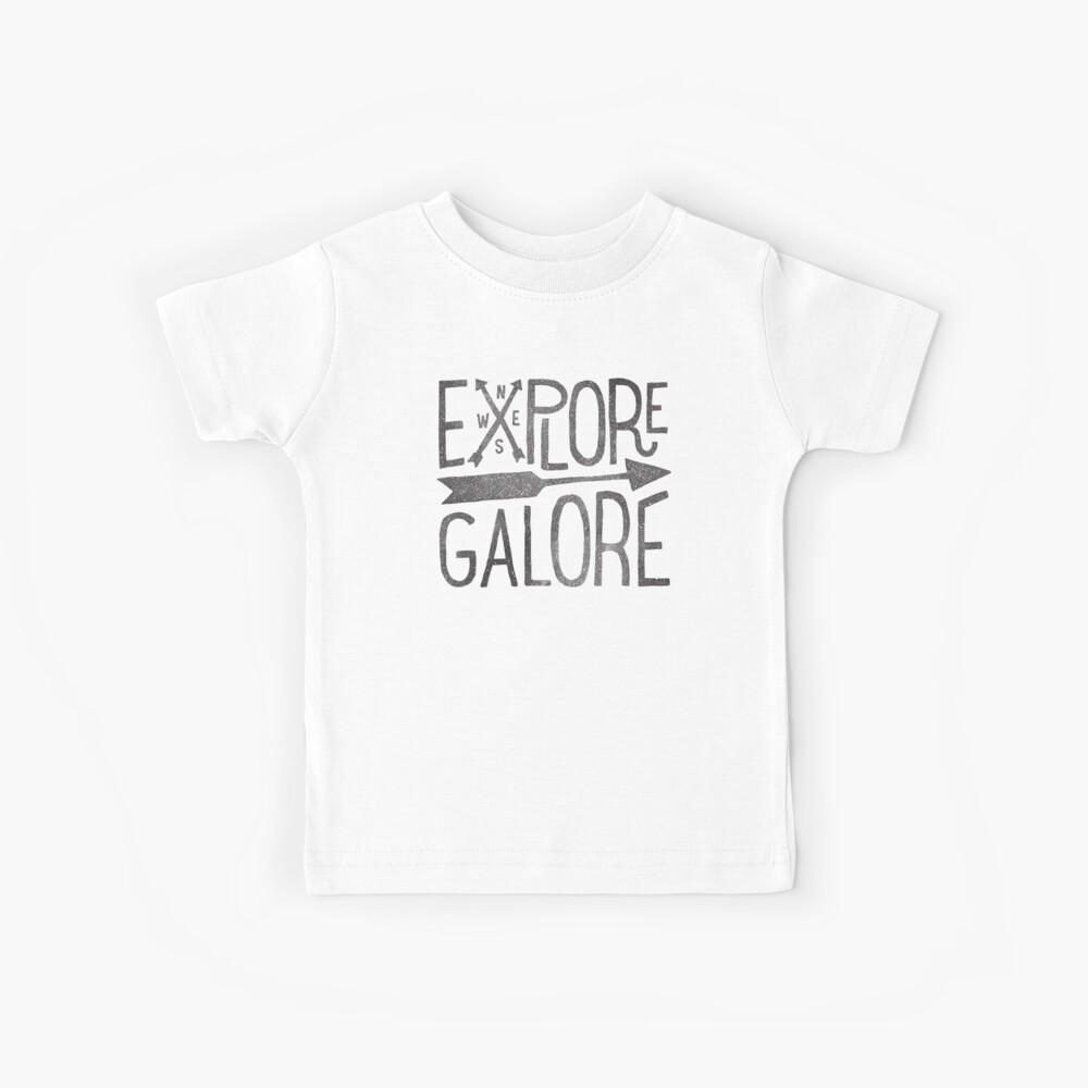 Erkunde Galore Kinder T-Shirt