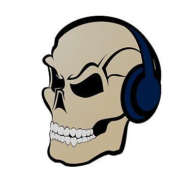 skull headphones by sided
