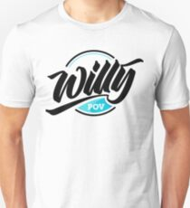 Willy POV Badge Unisex T-Shirt