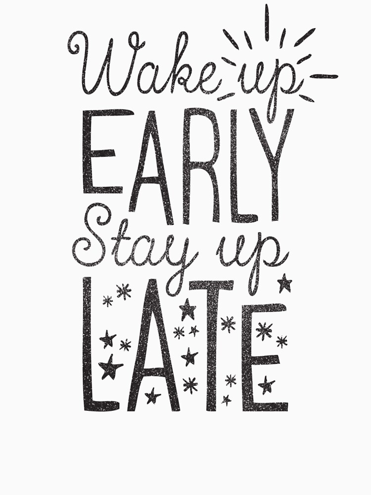 Stay Up Late by cabinsupplyco