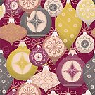 Vintage Christmas Ornaments  by gingerish