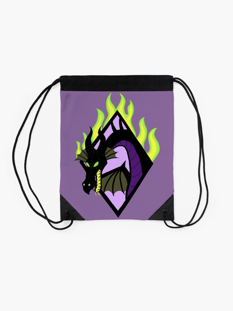 Alternate view of The Mistress of All Evil Drawstring Bag