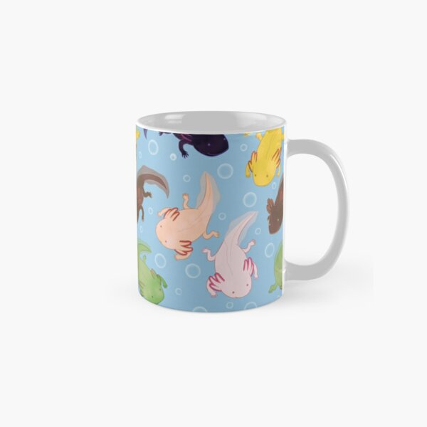 Axolotl Pattern Classic Mug