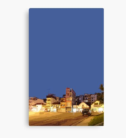 Dalat night Canvas Print