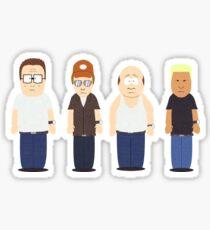 Pegatina Rey del Escuadrón Hill [Edición South Park]