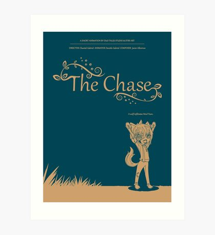 The Chase - Movie Poster Art Print