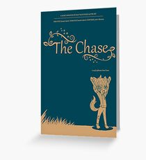 The Chase - Movie Poster Greeting Card