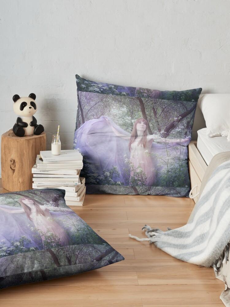 Alternate view of Fledgling Floor Pillow