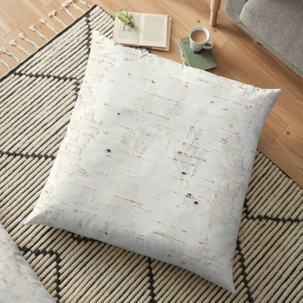 Birchbark Floor Pillow