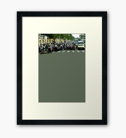 Saigon Framed Print
