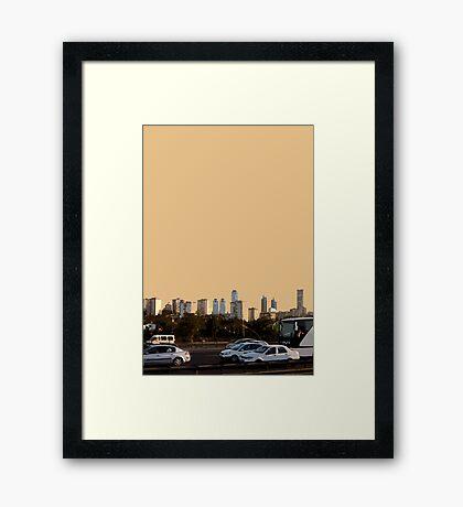 new istanbul Framed Print