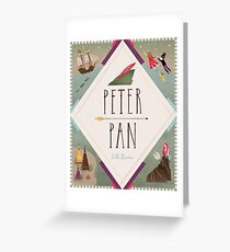 Peter Pan Greeting Card